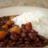 Image of Arroz Blanco Y Habichuelas Guisadas Recipe, Cook Eat Share